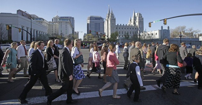 Top Mormons outline support for marriage for man-woman only
