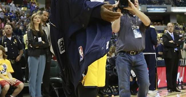 Pacers' Paul George gets warm reception in season debut