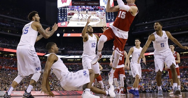 Kentucky's 1st loss draws best audience for semi since '96