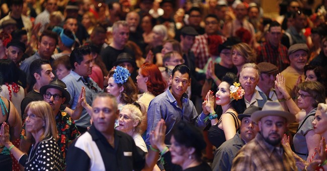 AP PHOTOS: Vintage style invades Vegas for rockabilly fest