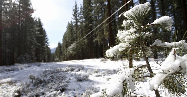 Californians hoard rain, celebrate snow from spring storm
