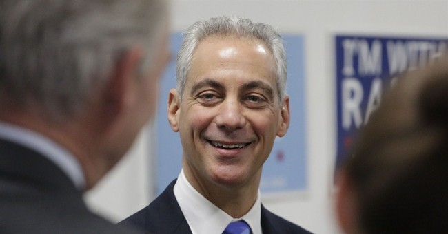 Emanuel, Garcia rally supporters before Chicago election