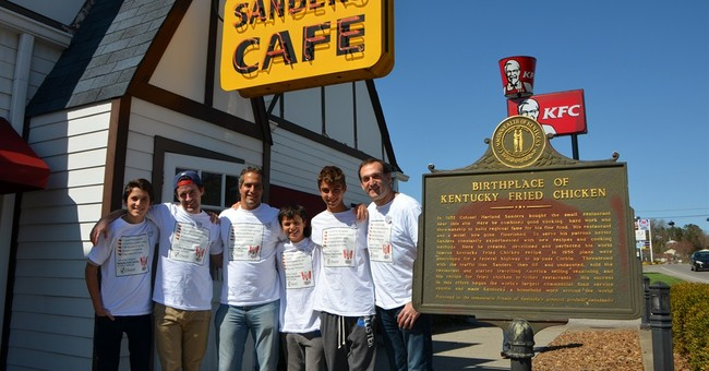 Canadians make 2,000-mile trip for Kentucky Fried Chicken