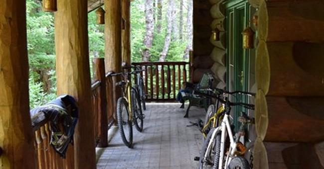 Outdoor adventure at remote lodge in Nova Scotia