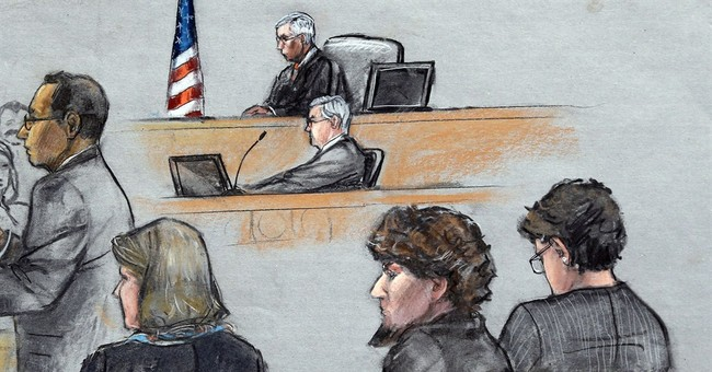 Jurors end 1st day of deliberations in marathon bombing case
