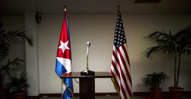 Cuba-US warming held up by listing of Cuba as terror sponsor