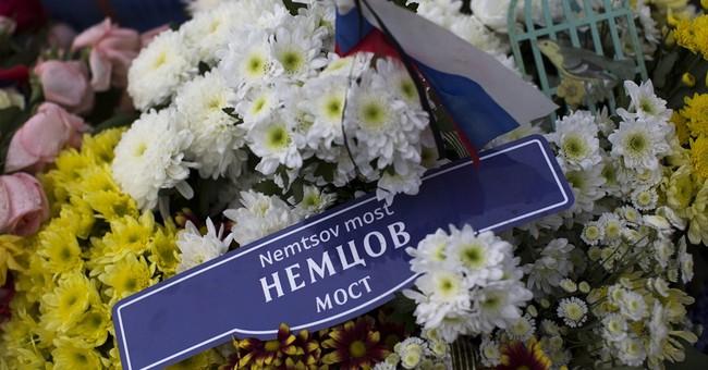 Supporters commemorate Russian politician's murder