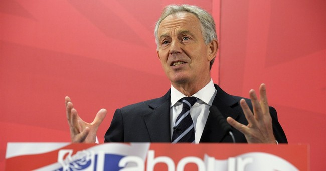 Tony Blair warns of dangers of second term for Conservatives
