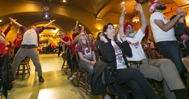 Wisconsin fans take to State Street despite loss to Duke