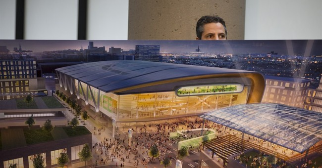 Bucks' proposed arena at center of entertainment district