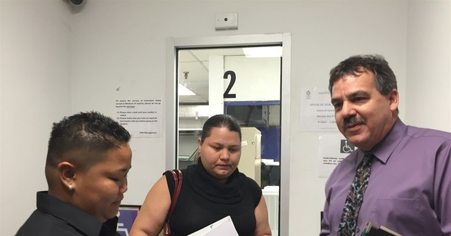 Guam rejects lesbian couple's marriage license application