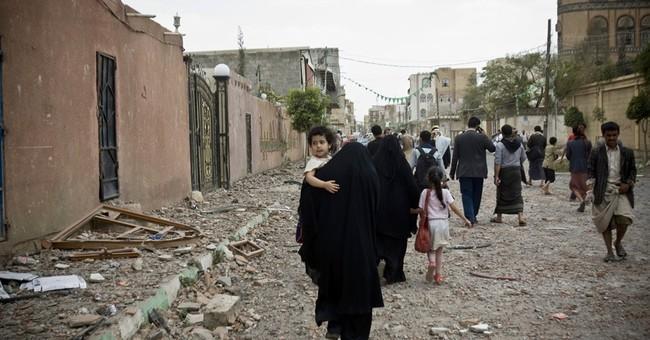 Yemen rebels capture city, Iran condemns Saudi air campaign