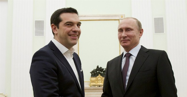 Putin offers cooperation with Greece _ but no financial aid
