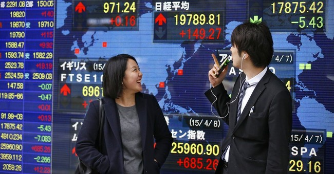 World stocks rise as Shell makes $70B takeover deal