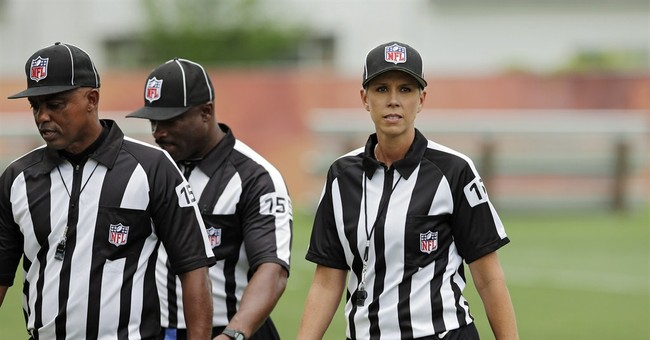 NFL hires Sarah Thomas, 1st female official
