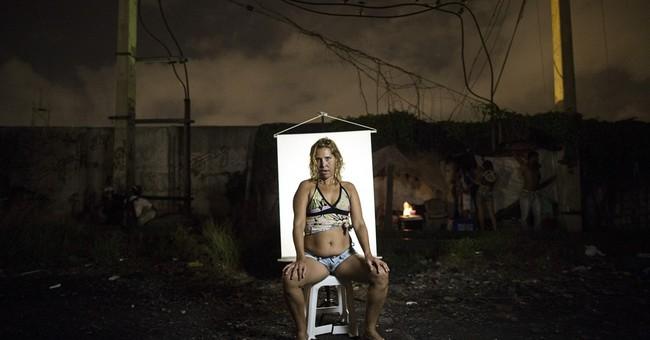 AP PHOTOS: Portraits from Rio de Janeiro's 'Cracklands'