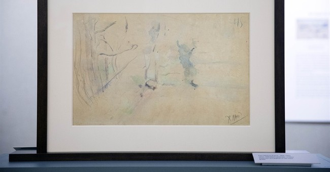 Newly discovered Cezanne sketches to be displayed in Philly