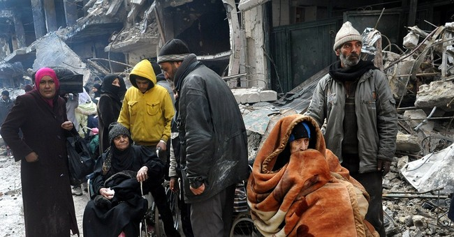 Suffering rises as militants take over refugee camp in Syria