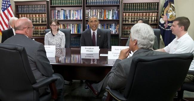 Correction: Obama Surprise story