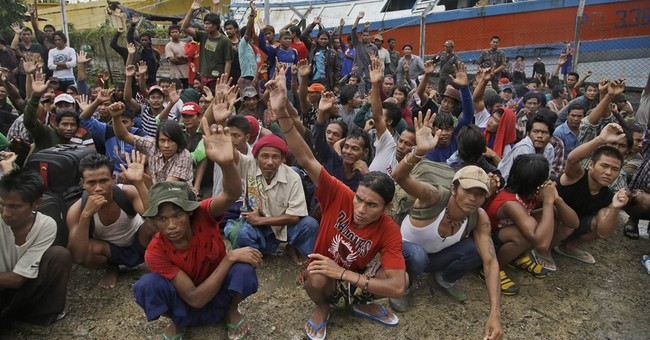 Number of slaves found on Indonesian island at almost 550