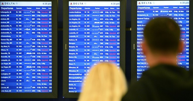 Long tarmac delays at US airports spiked in February