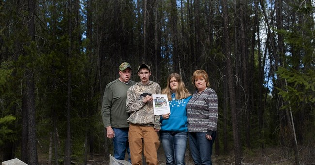 Washington deputies find cabin that family reported stolen