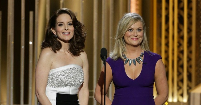 Tina Fey, Amy Poehler Slam North Korea at Golden Globes