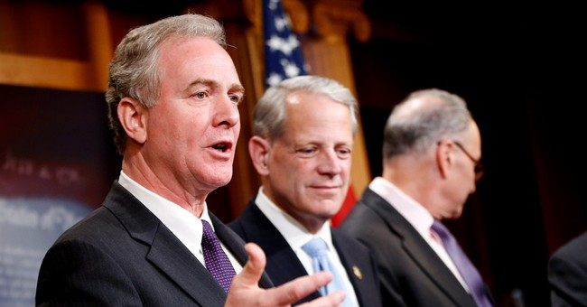 Here's Chris Van Hollen Complaining He Had to Come Back to the Senate to Vote on More PPP Funding