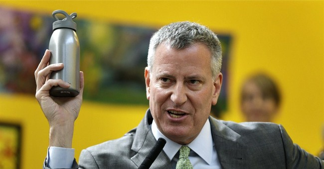 Bill de Blasio, Streaking Buck Naked