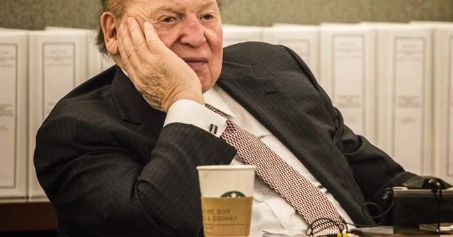 Who Will Win Sheldon Adelson's Money?