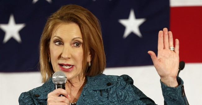 "Carly Fiorina's Newish Anti-Hillary Ad: ""Flying is Not An Accomplishment; It Is An Activity"""