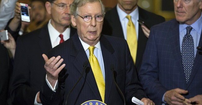 McConnell to Dems: I'll Force Painful Amendments If You Keep Filibustering the Iran Deal