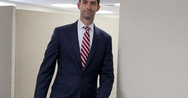 "Sen. Tom Cotton Introduces Legislation to Block ""Sanctuary Cities"" from Federal Law Enforcement Grants"