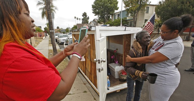 Building tiny houses into big help for Los Angeles homeless AP News