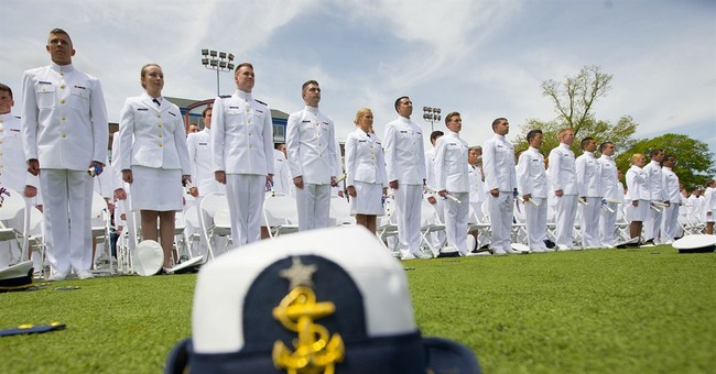 WATCH LIVE: President Trump Speaks At USCGA Commencement