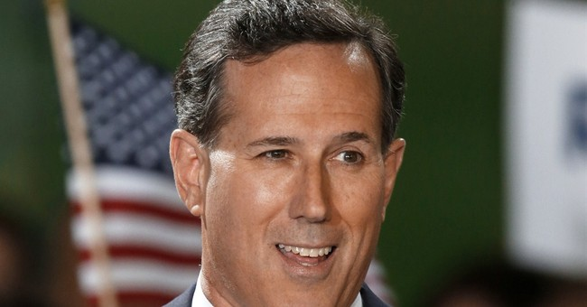 Rick Santorum's Campaign Raised Less Than a Million Dollars In Second Quarter