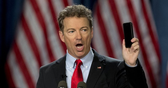 Rand Paul: I Bet My Critics Are Rooting for a Terrorist Attack, Just So They Can Blame Me