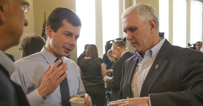 Can A Gay, Christian, White Man Take The Nomination That Biden Is Losing?