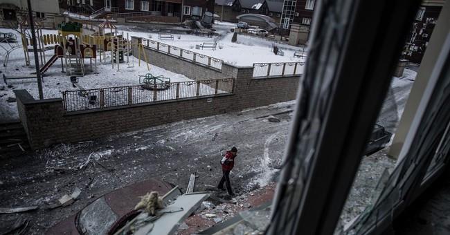 Ukraine Burns as the West Looks Away