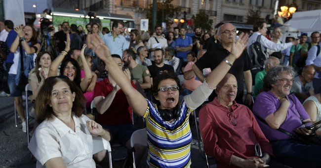 Greeks Reject Bailout Terms In Referendum