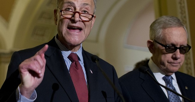 The Immolation of Chuck Schumer And The Inevitable Veto Watch
