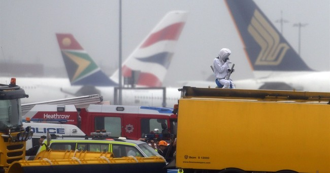 Environmentalists Protest at Heathrow Airport; Delay Flights