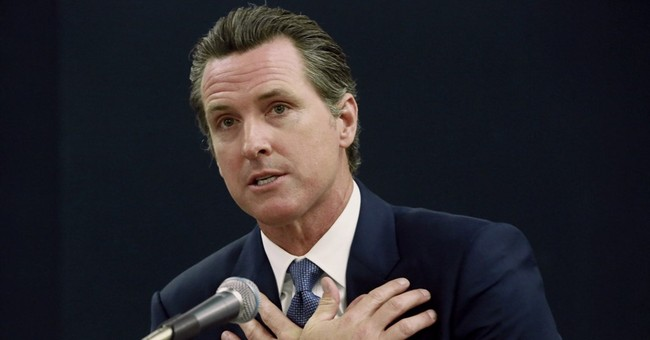 Gavin Newsom Is No Kim Davis