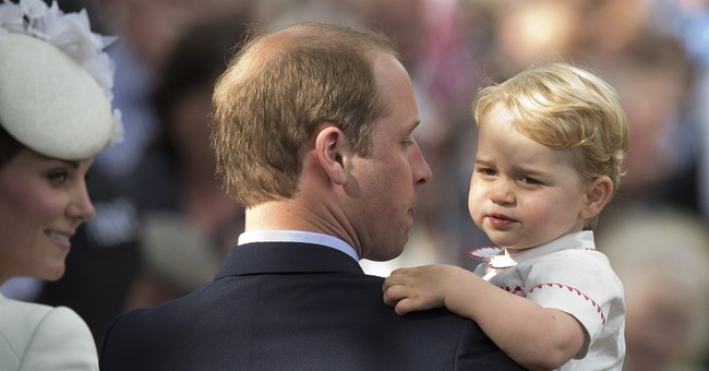Making Fatherhood Royally In Vogue