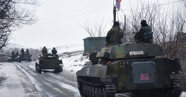 Ukraine Claims Russians are Fighting Alongside Rebels... Again.