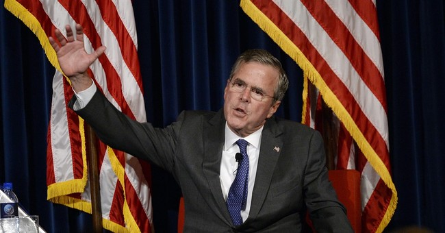 Bush Outlines His Plan: Destroy ISIS, Beat Assad, Toss the Iran Nuke Deal