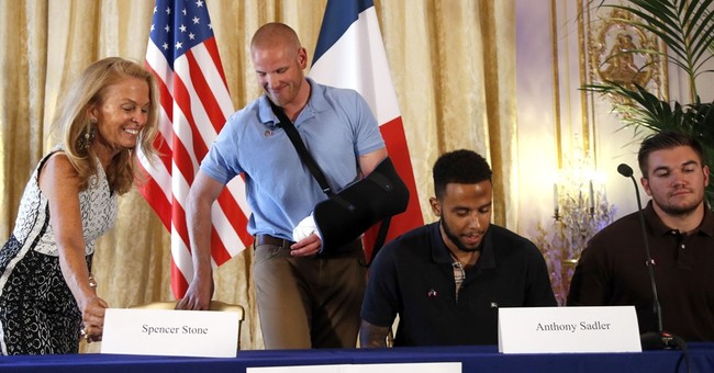 Americans Who Foiled Train Attack in France to Receive Country's Highest Honor