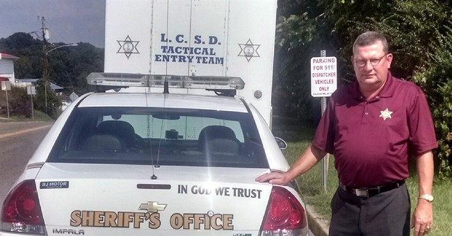 Police Agencies Display 'In God We Trust' on Patrol Cars, Tell Critics to 'Go Fly a Kite'