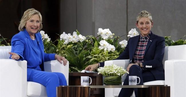 'Non-Political' Ellen Endorses President Hillary