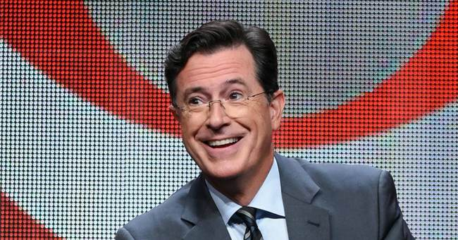 Stephen Colbert Proves the Slippery Slope is Real